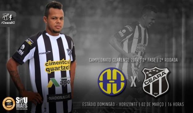 Horizonte x Ceará – Vencer e vencer! (Imagem: Cearasc.com/Divulgação)