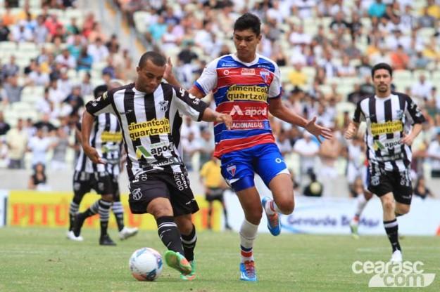 """Nada de """"jogo amistoso"""" no Classico-rei (Foto: Cearasc.com/Divulgação)"""