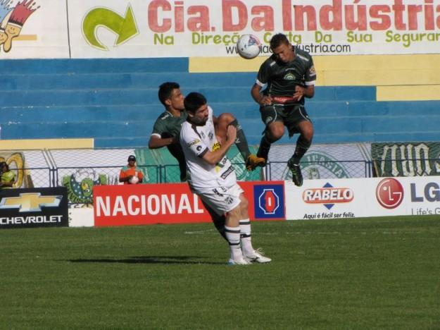 Ricardinho viu seu time deixar escapar mais uma vitoria (Foto:Paulo Cesar/Icasafc.com)
