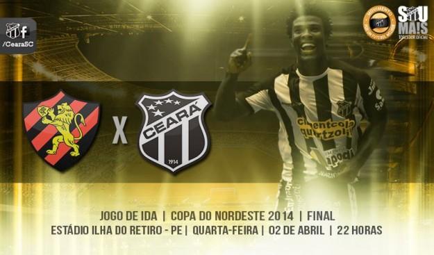 Sport x Ceará – A batalha final – Parte I (Imagem: Cearasc.com/Divulgação)