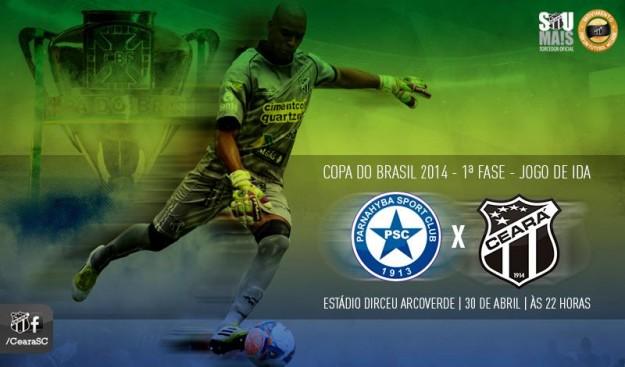 """Parnahyba x Ceará – Alternando para o """"Alternativo"""" (Imagem: Cearasc.com/Divulgação)"""