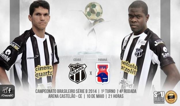 Ceará x Paraná – Mudando para vencer (Imagem: Cearasc.com/Divulgação)