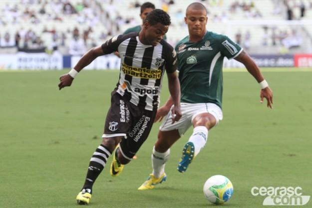 Nikão vem crescendo a cada jogo e novamente deixou o dele (Foto: Cearasc.com/Divulgação)