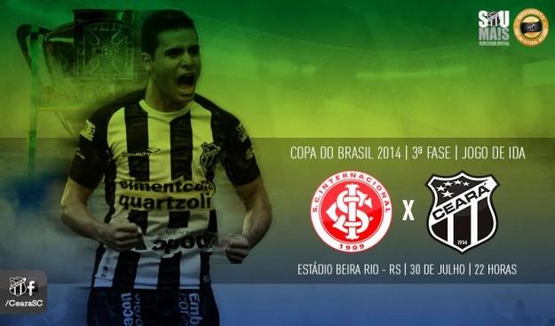 Internacional x Ceará – Pensando na volta (Imagem: Cearasc.com/Divulgação)