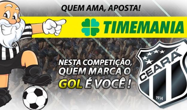 Aposte na Timemania e marque o Ceará como clube do coração (Imagem: Cearasc.com/Divulgação)