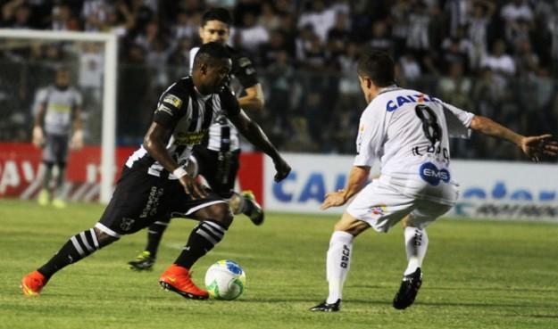Nikão caiu de rendimento e junto com ele o time (Foto: Cearasc.com/Divulgação)