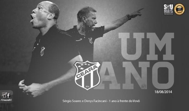 #SérgioSoares1Ano (Imagem: Cearasc.com/Divulgação)
