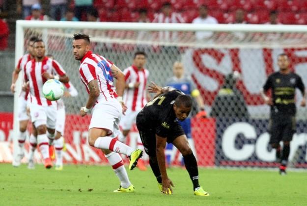 O time vem capengando na competição, isso é preocupante (Foto: Diego Nigro)