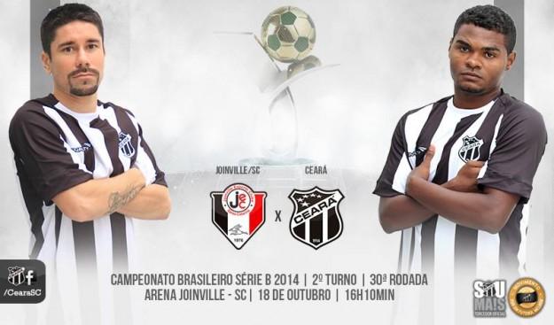 Joinville x Ceará – Vale vaga no G4 (Imagem: Cearasc.com/Divulgação)