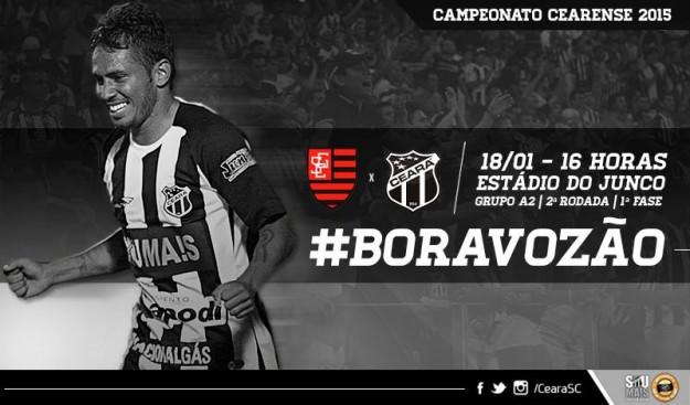 Guarany x Ceará – Duro teste (Imagem: Cearasc.com/Divulgação)