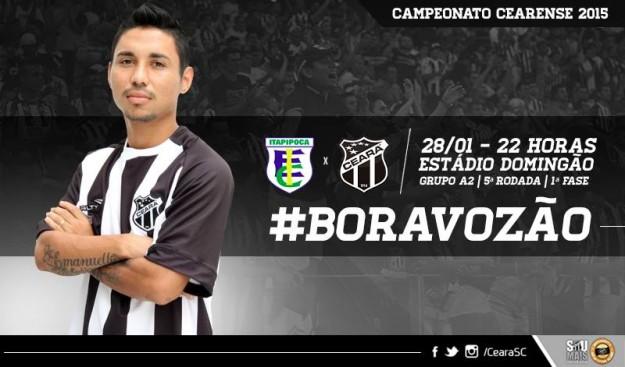 Itapipoca x Ceará – Hora de mostrar a cara (Imagem: Cearasc.com/Divulgação)