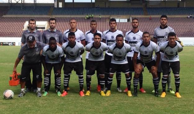 Vovozinho encara o Palmeiras na 2ª fase da Copinha (Foto: Cearasc.com/Divulgação)