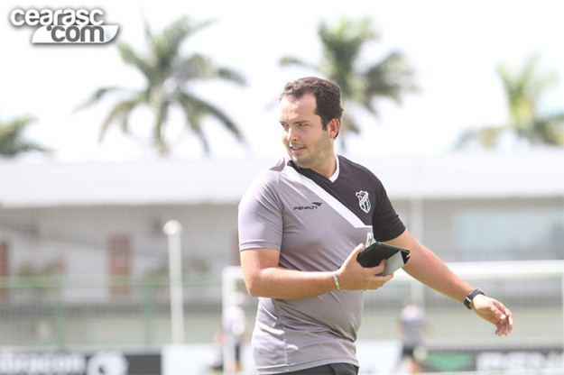 Lucas Oaks é o responsável pela fisiologia do clube (Foto: Ceaasc.com/Divulgação)