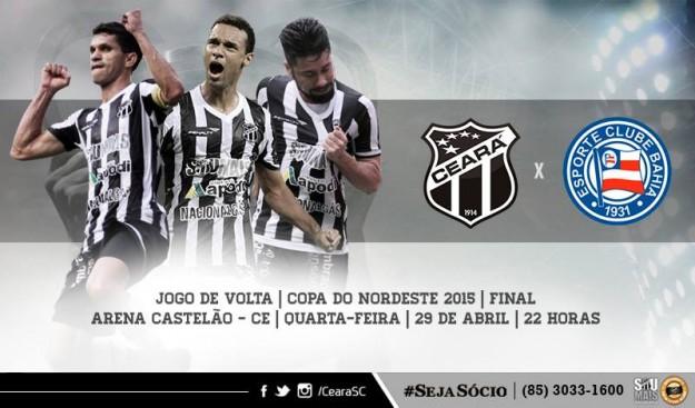 Ceará x Bahia – Confronto Final (Imagem: CearaSC.com/Divulgação)