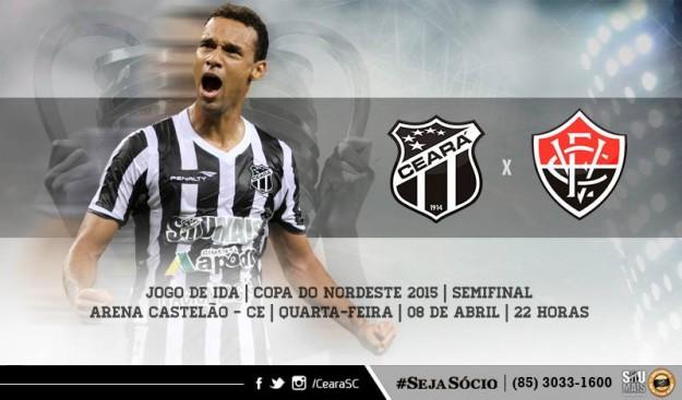 Ceará x Vitória – Hora de mudar a atitude (Imagem: CearaSC.com/Divulgação)