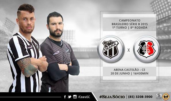 Ceará x Santa Cruz – Vencer é o único caminho (Imagem: CearaSC.com/Divulgação)