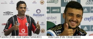 Fabinho e Victor Luis