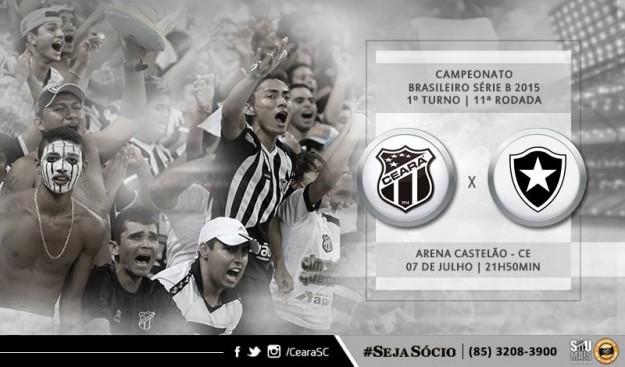 Ceará x Botafogo – Buscando recomeçar (Imagem: CearaSC.com/Divulgação)