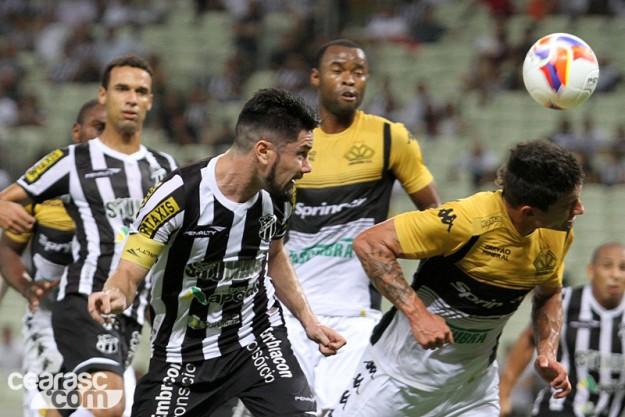 A bola parada de Ricardinho nos salvou da derrota (Foto: Christian Alekson/Divulgação)