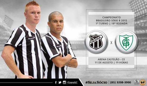 Ceará x América-MG – Um só pensamento (Imagem: CearaSC.com/Divulgação)