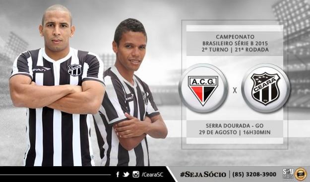 Atlético-GO x Ceará – Confronto direto (Imagem: CearaSC.com/Divulgação)
