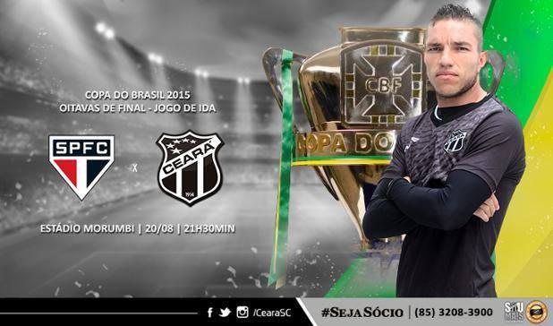 São Paulo x Ceará – Sem muito a perder (Imagem: CearaSC.com/Divulgação)