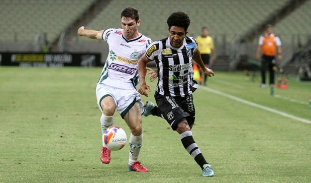 Ricardo Conceição foi um dos poucos lúcidos na partida (Foto: Christian Alekson/CearaSC.com)