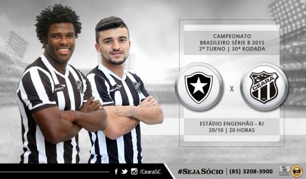 Botafogo x Ceará – Um busca do improvável (Imagem: CearaSC.com/Divulgação)