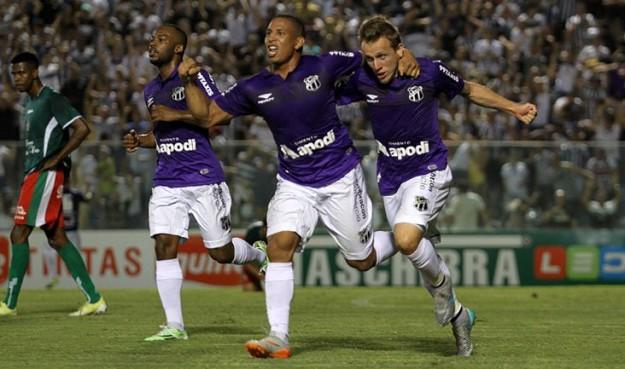 Alex Amado marcou seu primeiro gol com a camisa do Vozão (Foto: Christian Alekson/CearaSC.com)