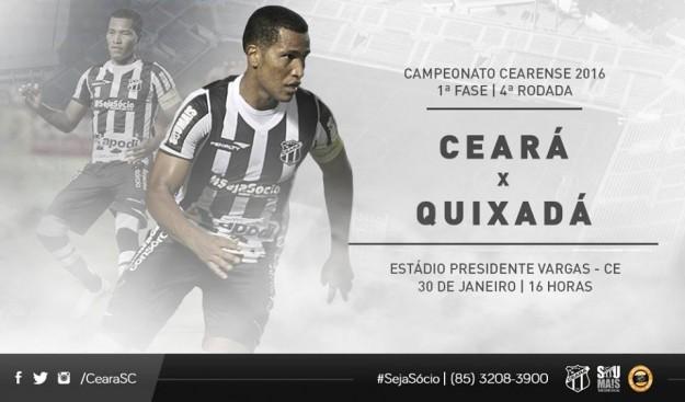 Ceará x Quixadá – Fazendo observações (Imagem: CearaSC.com/Divulgação)
