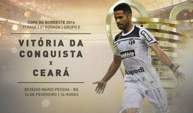 Vitória da Conquista x Ceará – Buscando a conquista (Imagem: CearaSC.com/Divulgação)