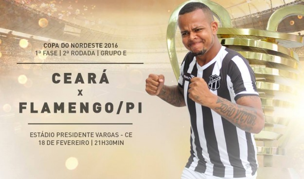 Ceará x Flamengo/PI – Jogo da recuperação (Imagem: CearaSC.com/Divulgação)