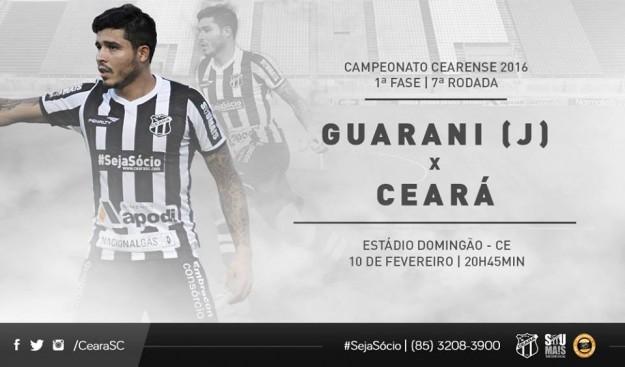 Guarani x Ceará – Missão dada (Imagem: CearaSC.com/Divulgação)