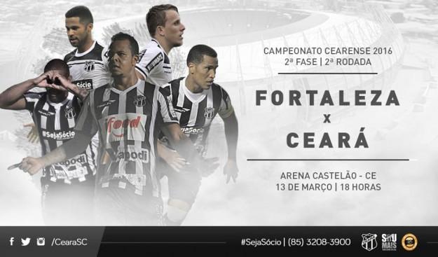 Fortaleza x Ceará – Pra desequilibrar (Imagem: CearaSC.com/Divulgação)