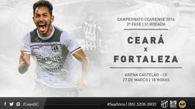 Ceara x Fortaleza – Teste da recuperação (Imagem: CearaSC.com/Divulgação)