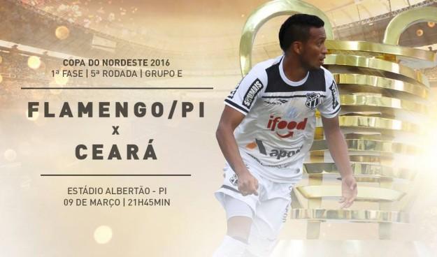 Flamengo-PI x Ceará – Jogo chave (Imagem: CearaSC.com/Divulgação)