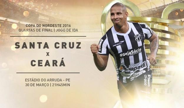 Santa Cruz x Ceará – Panela de pressão (Imagem: CearaSC.com/Divulgação)