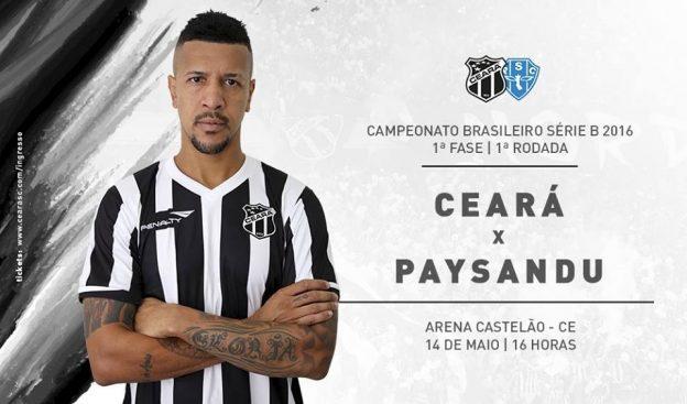 Ceará x Paysandu – O 1º dos 38 obstáculos (Imagem: CearaSC.com/Divulgação)