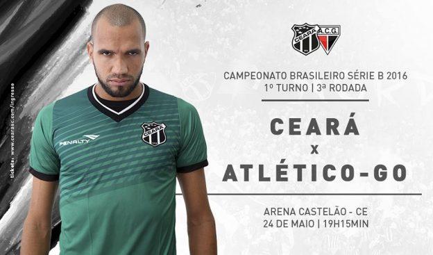 Ceará x Atlético-GO – Vale permanência no G4 (Imagem: CearaSC.com/Divulgação)