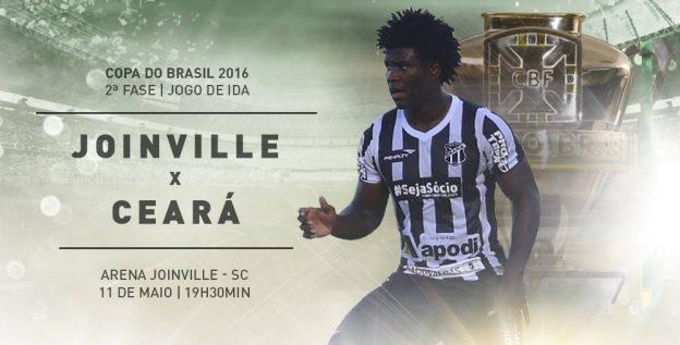 Joinville x Ceará – Mostrando a cara (Imagem: CearaSC.com/Divulgação)
