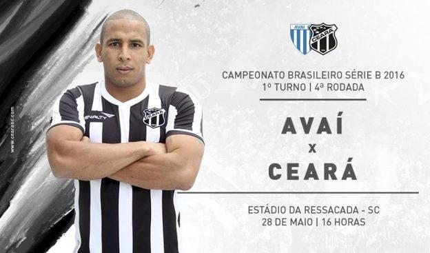 Avaí x Ceará – Casca grossa (Imagem: CearaSC.com/Divulgação)