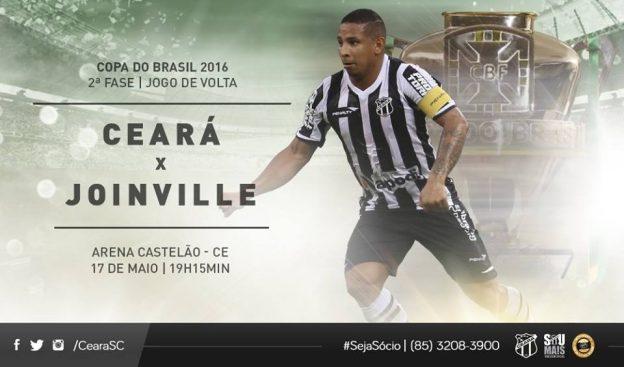 Ceará x Joinville – Buscando ajustes (Imagem: CearaSc.com/Divulgação)
