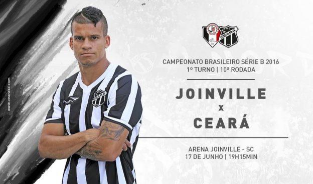 Joinville x Ceará – Sem deixar a peteca cair (Imagem: CearaSC.com/Divulgação)