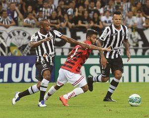 Wescley reestreou marcando o gol da vitória (Foto: Christian Alekson/CearaSC.com)