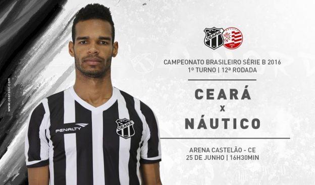 Ceará x Náutico – Sem perder o foco (Imagem: CearaSC.com/Divulgação)
