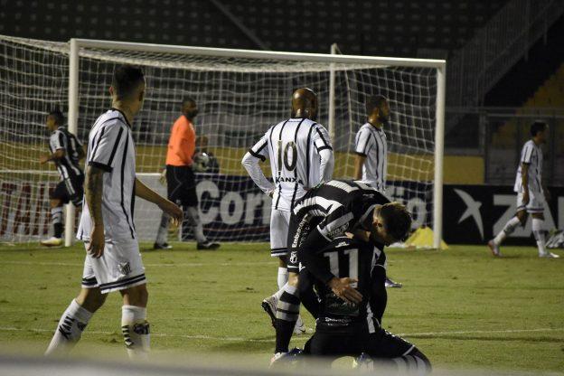 Com um futebol abaixo do esperado, o empate foi um bom resultado (Foto: Rafael Moreira/C.A. Bragantino)