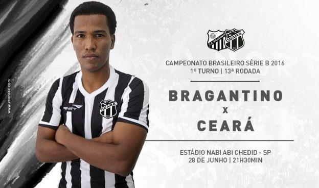 Bragantino x Ceará – Manter a pegada (Imagem: CearaSC.com/Divulgação)