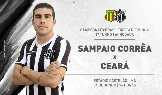 Sampaio Corrêa x Ceará – Hora de engrenar (Imagem: CearaSC.com/Divulgação)
