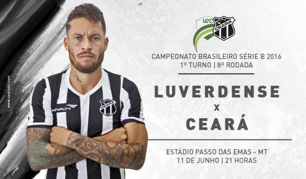 Luverdense x Ceará – Jogo da superação (Imagem: CearaSC.com/Divulgação)