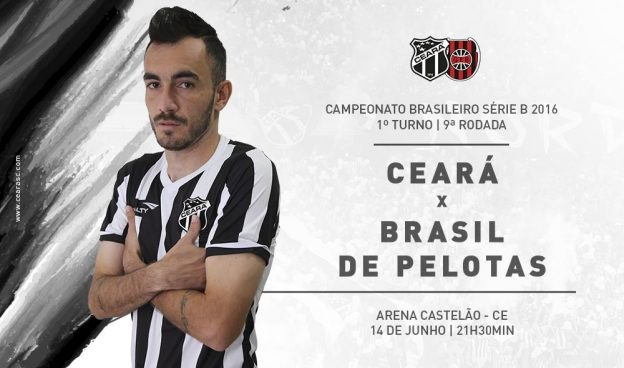 Ceará x Brasil de Pelotas – O dever é vencer ( Imagem: CearaSC.com/Divulgação)
